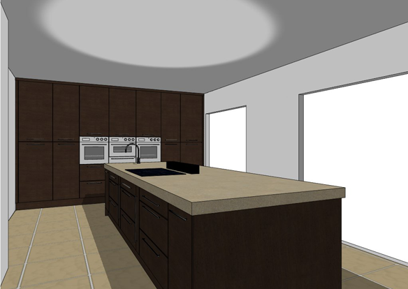 Detail architectural design and drawings in stockport for Kitchen design visualiser